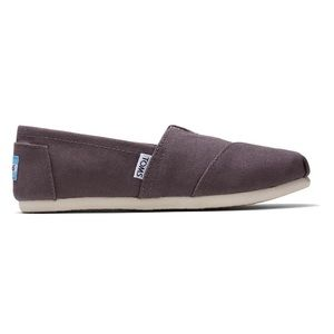 Toms Ash Canvas Classic Slip On